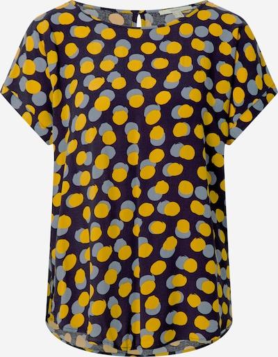 ESPRIT Blouse in de kleur Navy / Geel, Productweergave