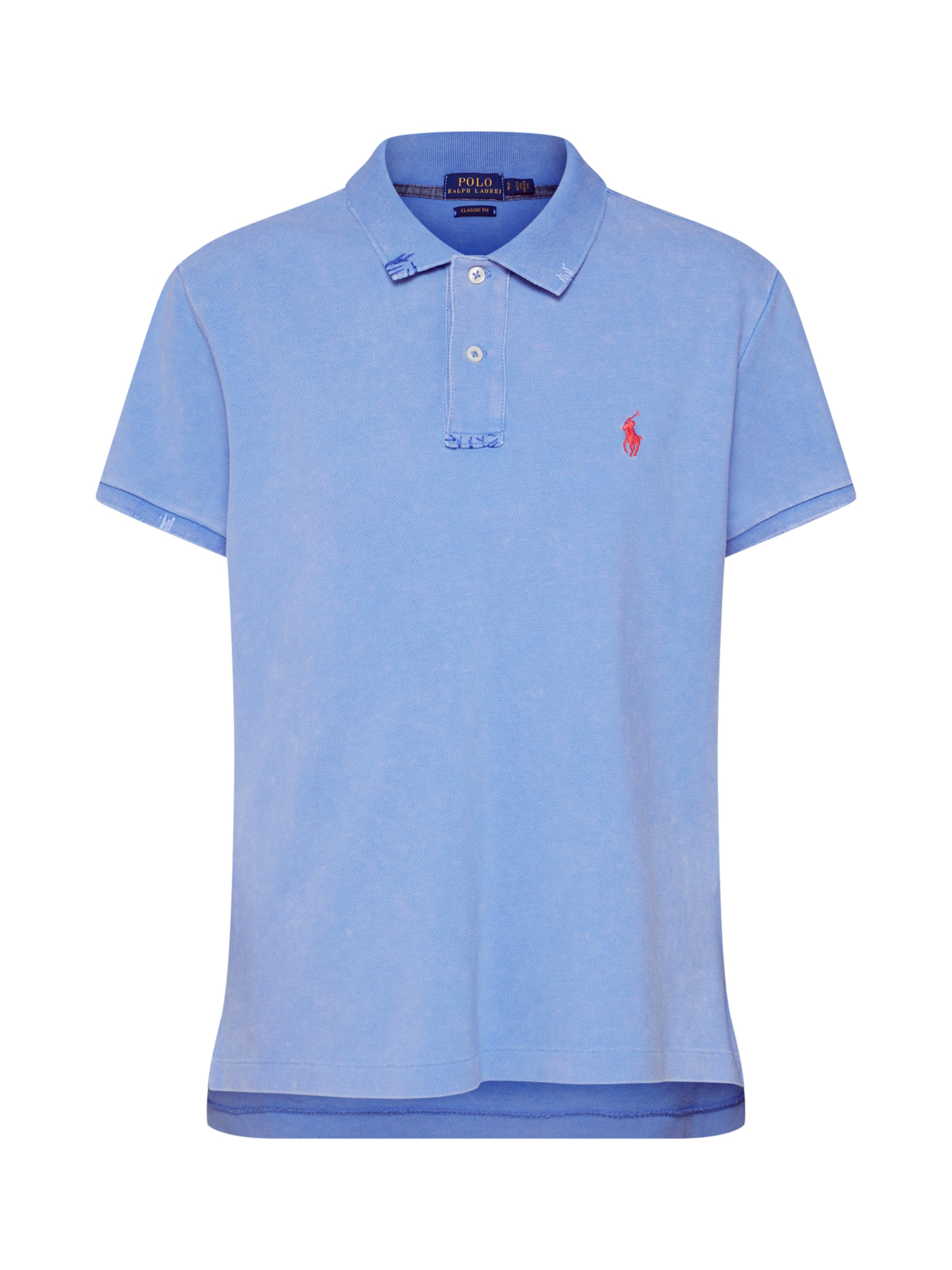 shirt Ralph En BleuRouge T Polo Lauren LRAj54