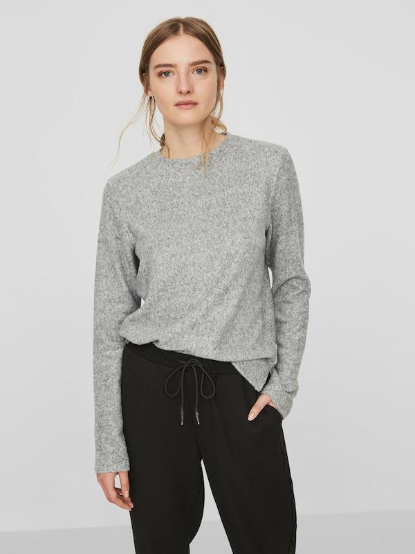 VERO MODA Langärmeliger Pullover