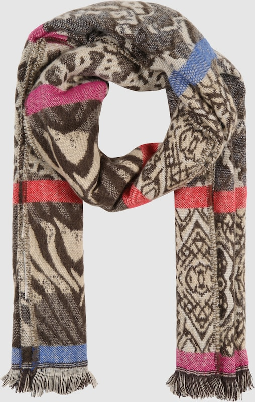 Codello Scarf With Color Blocking-accents