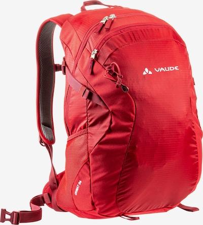 VAUDE Daypack in rot: Frontalansicht