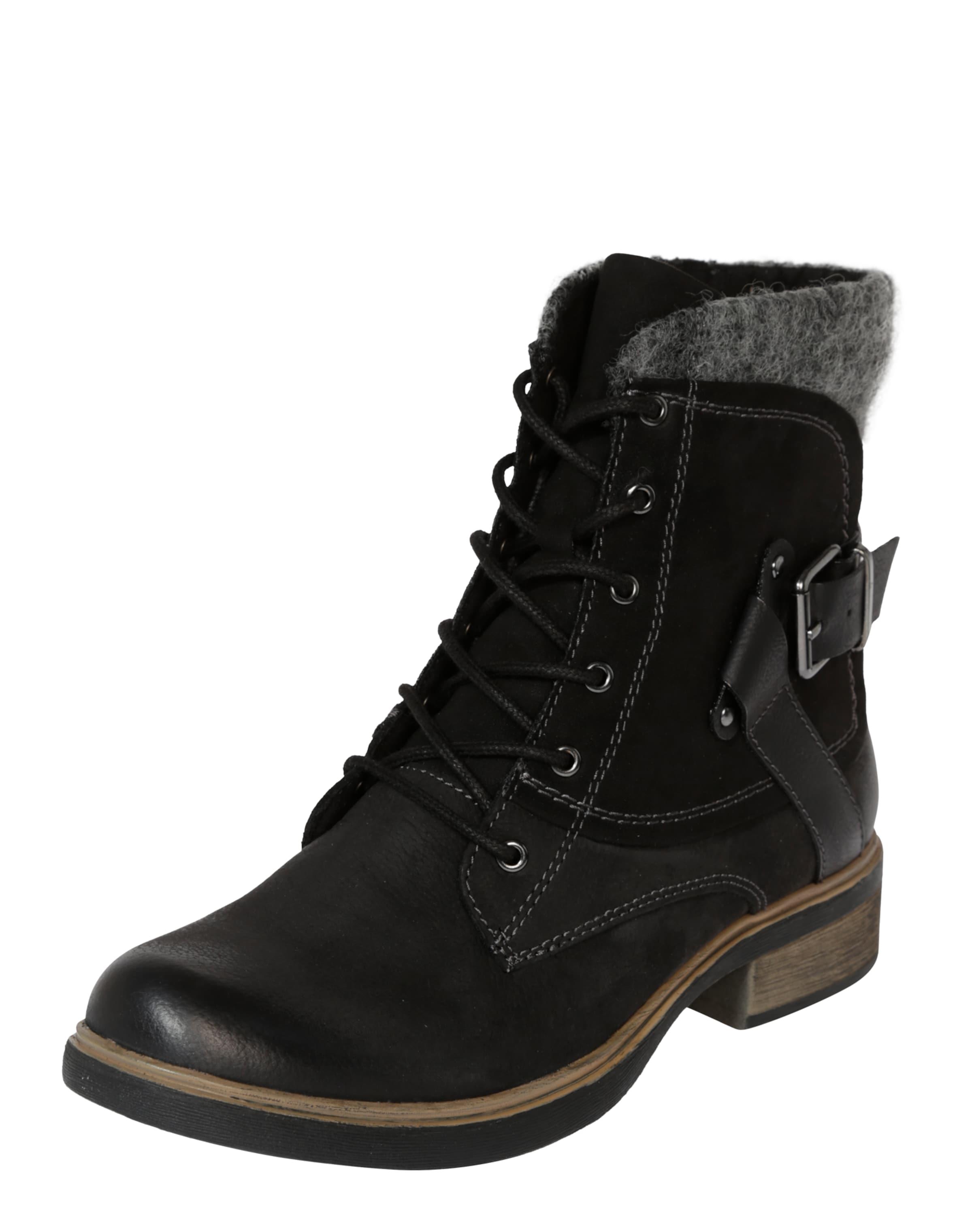 TAMARIS Schnürstiefel mit Nieten Verschleißfeste billige Schuhe