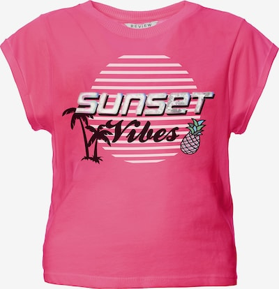 REVIEW FOR TEENS T-Shirt in mischfarben / pink, Produktansicht