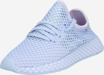 ADIDAS ORIGINALS Sneaker  'Deerupt Runner' in helllila / silber, Produktansicht