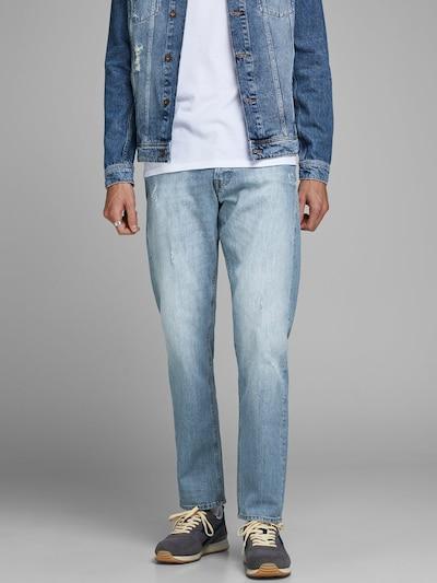 JACK & JONES Jeans in de kleur Blauw denim, Modelweergave