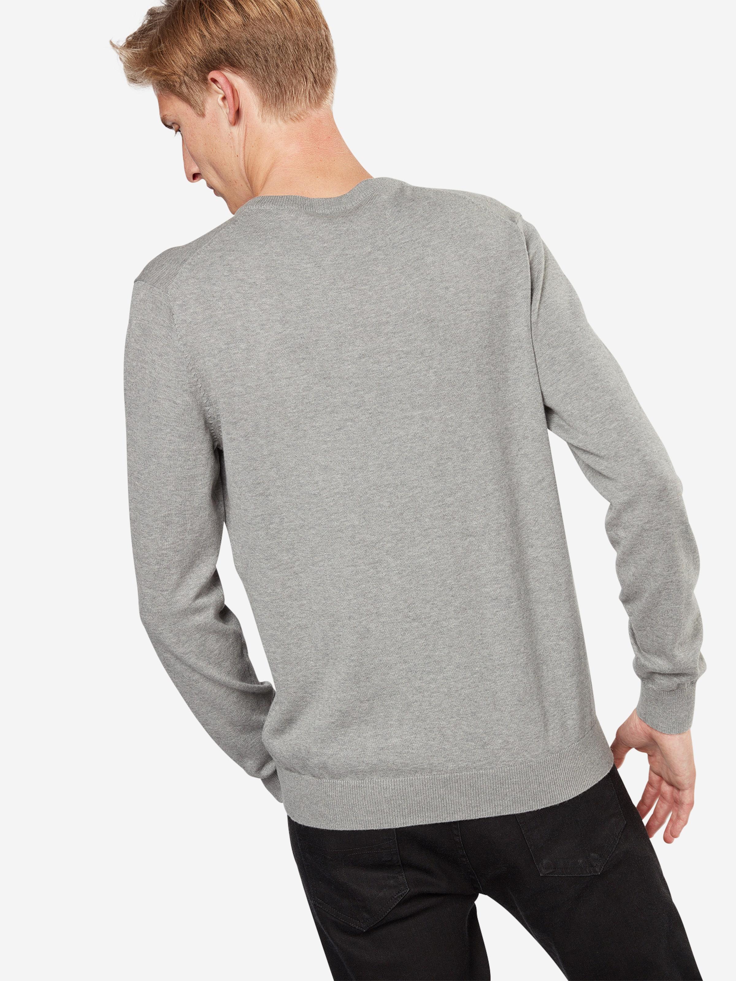 V Grau 'basic Pullover nk' Esprit Co In y7Ybf6gv