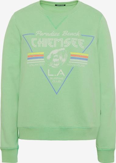 CHIEMSEE Sweatshirt in grün, Produktansicht