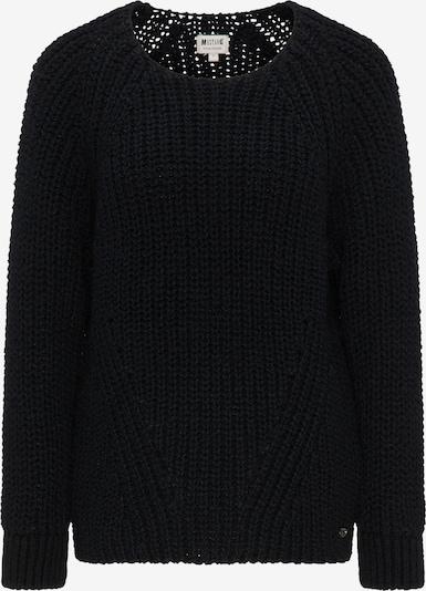 MUSTANG Sweater 'Carla' in schwarzmeliert, Produktansicht