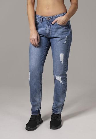 Urban Classics Jeans 'Boyfriend' in Blue