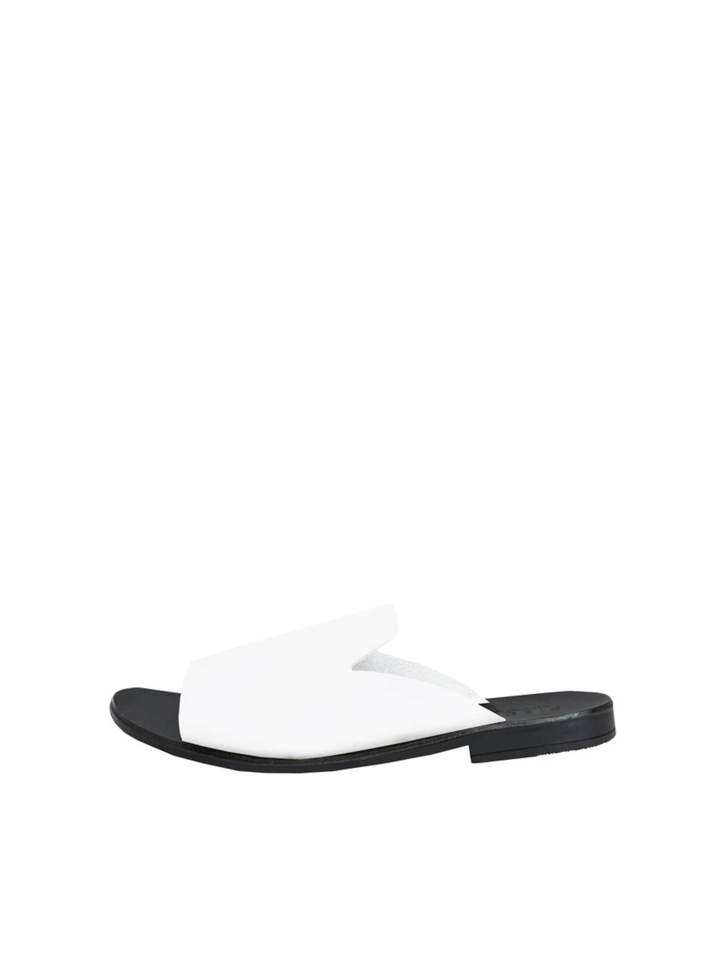 Sandales Pièces Avec Bracelet Noir / Blanc SZ7RZ5
