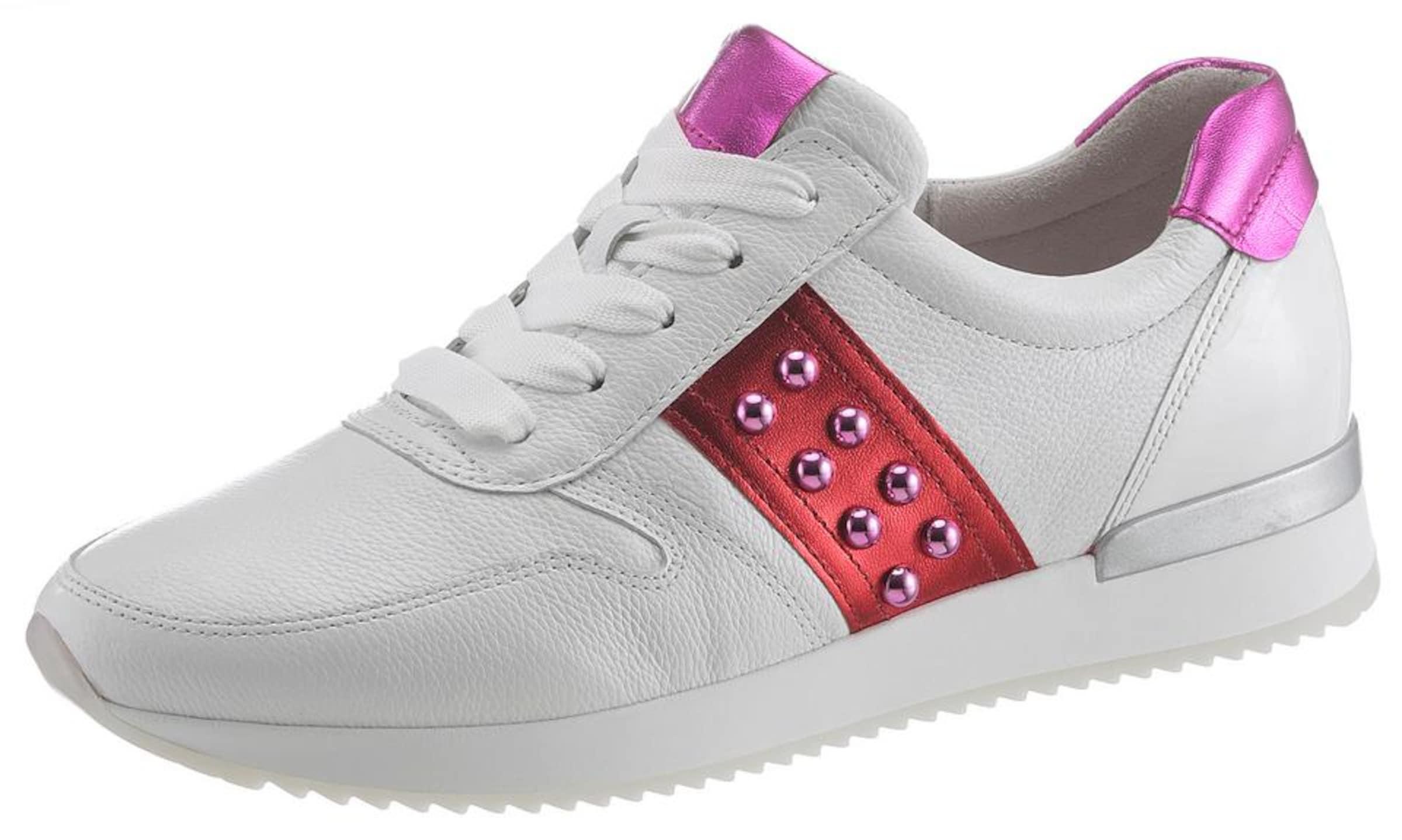 CyclamRot Gabor CyclamRot Sneaker Weiß In In Gabor In Weiß Sneaker CyclamRot Sneaker Gabor qVUMpzSG