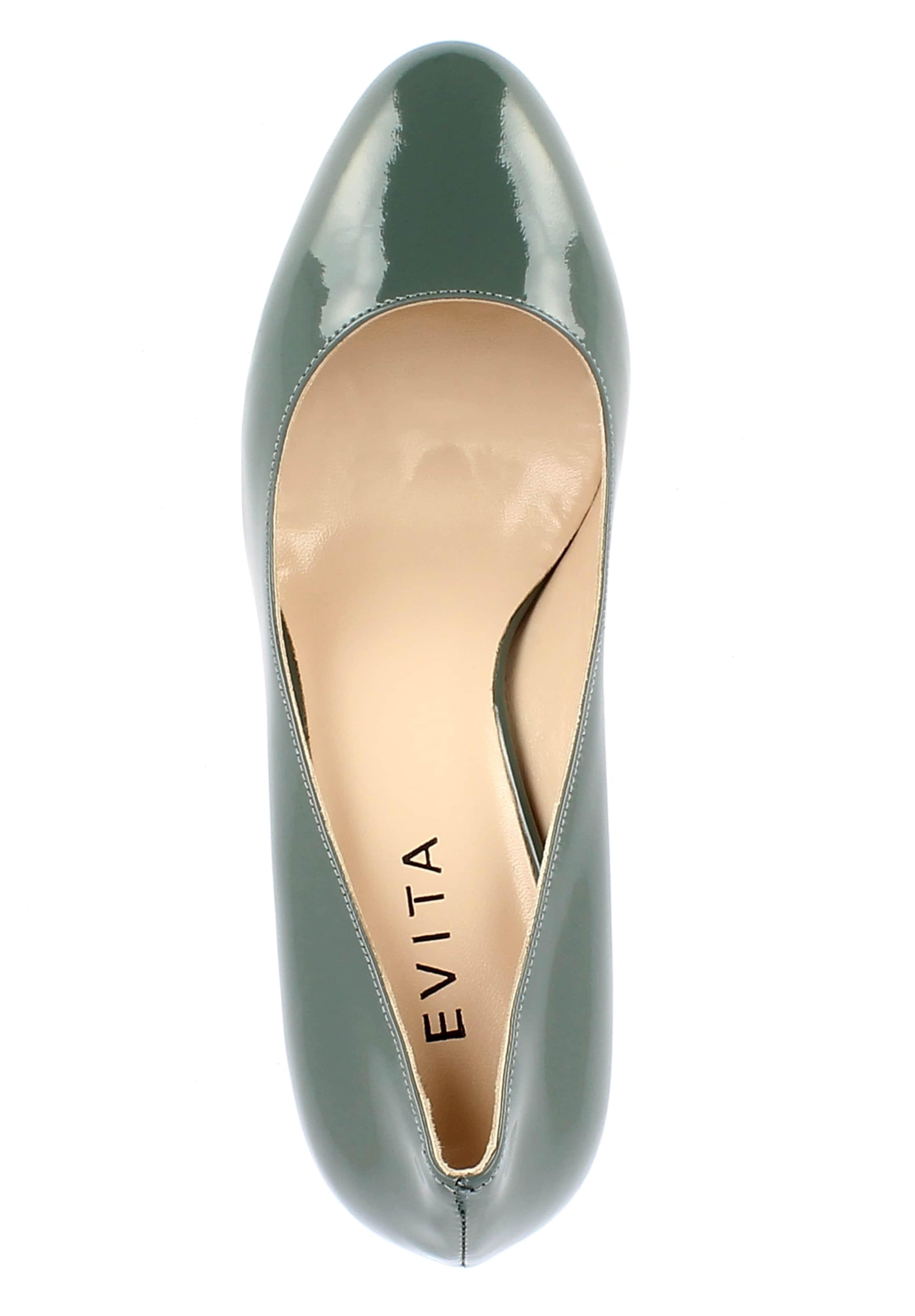 En Evita Pastel Escarpins Bleu 'bianca' 0Pk8nwO