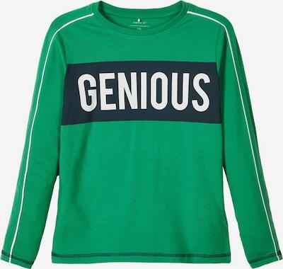 NAME IT Shirt in kobaltblau / limette / weiß, Produktansicht