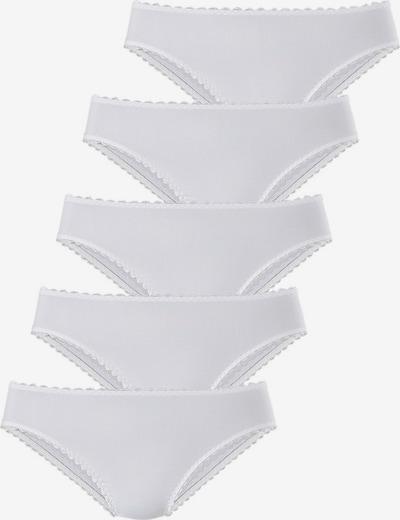 GO IN Slip en blanc, Vue avec produit