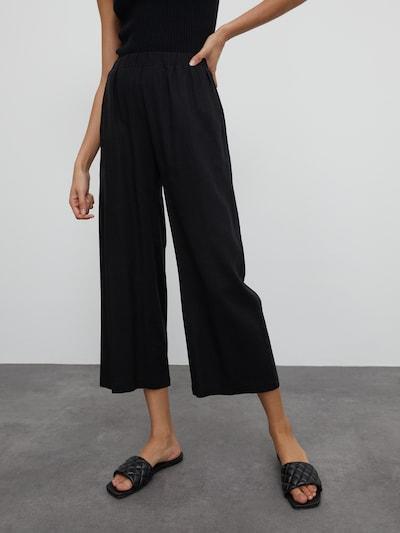 EDITED Culotte 'Nona' in schwarz, Modelansicht