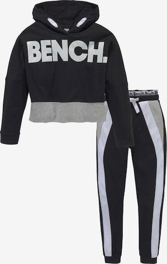 BENCH Shirt & Hose in schwarz / weiß, Produktansicht