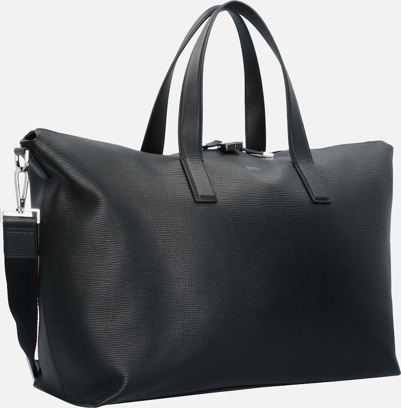 BOSS Timeless Shopper Tasche Leder 46 cm