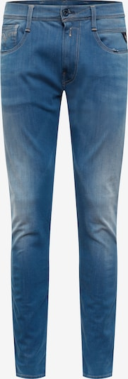 REPLAY Jeans  'Anbass HYPERFLEX PLUS' in blue denim: Frontalansicht