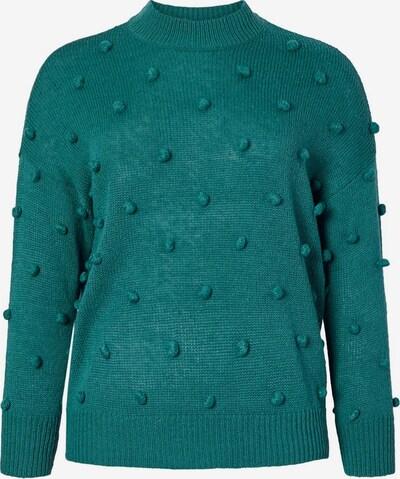 Junarose Pullover in smaragd, Produktansicht