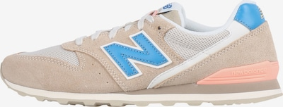 new balance Sneakers laag 'WL996 B' in de kleur Beige / Royal blue/koningsblauw / Wit, Productweergave