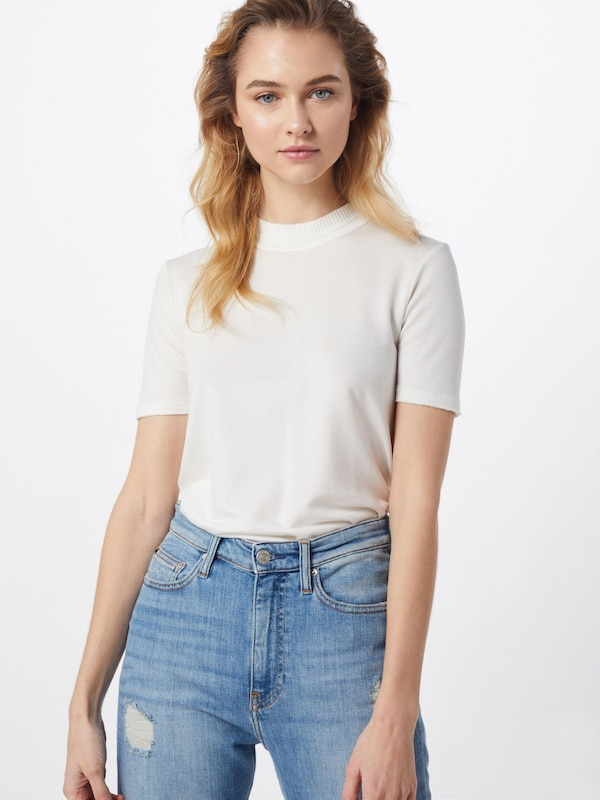 rag & bone Shirt  'SURPLUS TEE' in weiß, Modelansicht