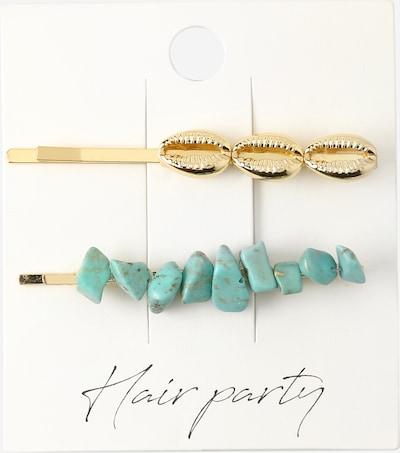 Plaukų papuošalas iš Orelia , spalva - turkio spalva / Auksas, Prekių apžvalga