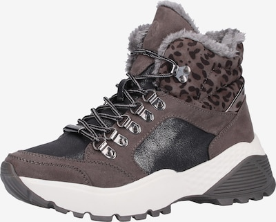 s.Oliver Sneaker in taupe / schwarz, Produktansicht