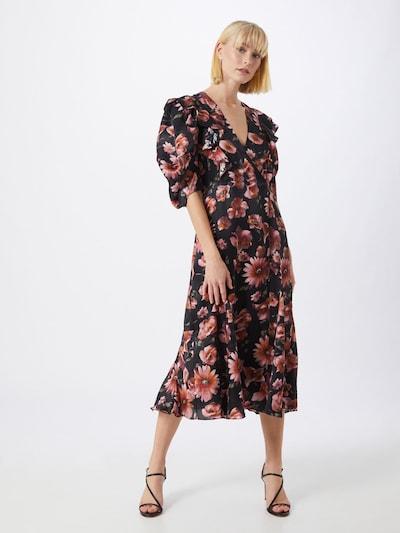 The Kooples Kleid 'ROBE' in rosa / schwarz, Modelansicht