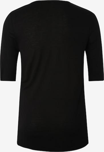 ABOUT YOU Curvy T-shirt 'Fatma' en noir: Vue de dos