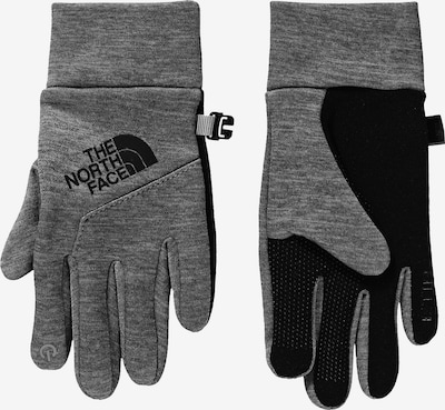 THE NORTH FACE Softshellhandschuhe 'Etip' in grau / schwarz, Produktansicht