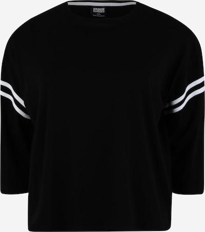 Urban Classics T-shirt en noir / blanc: Vue de face