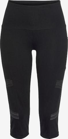 Pantaloni sport de la LASCANA ACTIVE pe negru