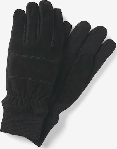 TOM TAILOR Handschuhe in schwarz, Produktansicht