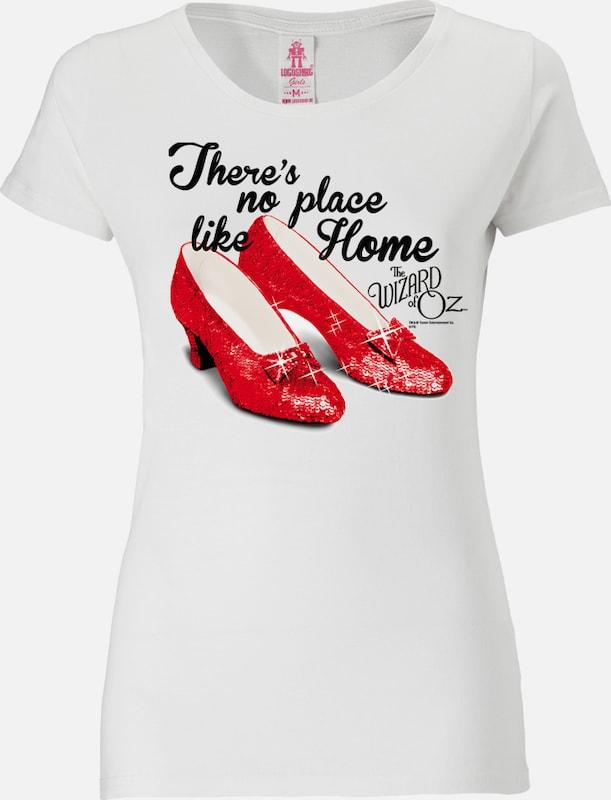 LOGOSHIRT T-Shirt 'There`s no place like home - Der Zauberer von Oz'