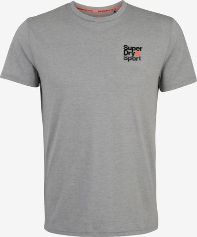 Superdry Functioneel shirt in de kleur Lichtgrijs, Productweergave