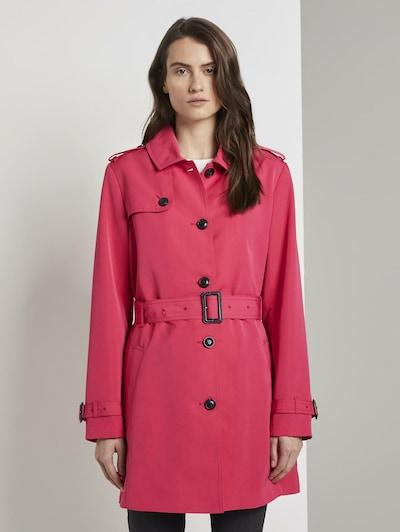 TOM TAILOR Trenchcoat in pink, Modelansicht
