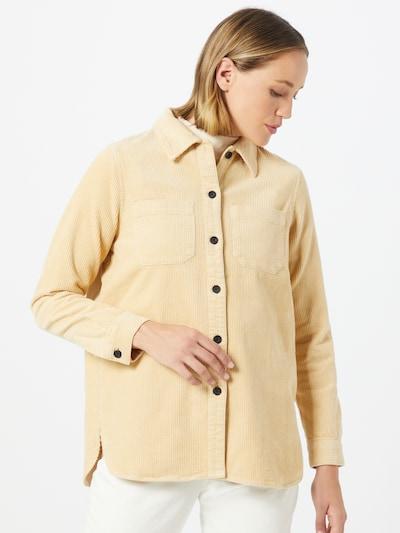 minimum Bluse 'Feluna 7157' in beige, Modelansicht