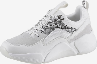 BULLBOXER Sneaker in hellgrau / weiß, Produktansicht