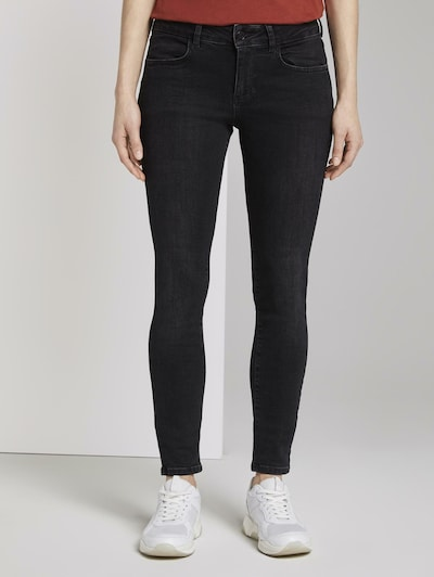TOM TAILOR DENIM Jeans in black denim, Modelansicht