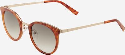 LE SPECS Sonnenbrille 'NO LURKING' in braun / gold, Produktansicht