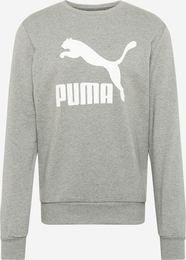 PUMA Sweatshirt in grau / weiß, Produktansicht