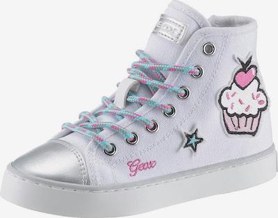 GEOX Kids Sneaker 'Ciak' in weiß, Produktansicht