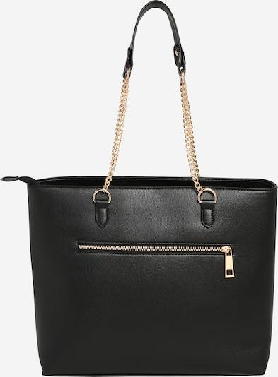 fekete Dorothy Perkins Shopper táska 'Black Zip Front Shopper', Termék nézet