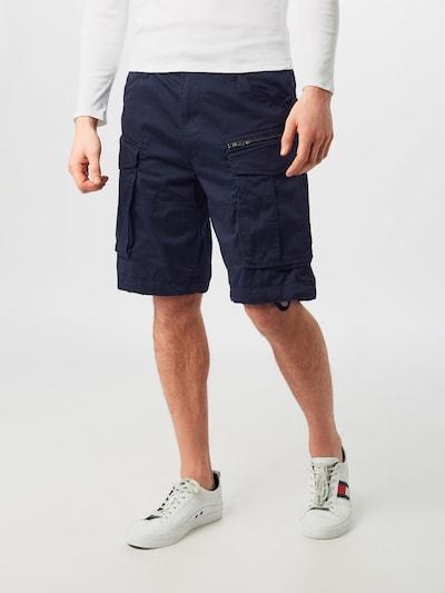 G-Star RAW Cargobroek 'Rovic' in de kleur Donkerblauw: Vooraanzicht