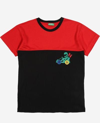 UNITED COLORS OF BENETTON Shirt in mischfarben / orange / schwarz, Produktansicht
