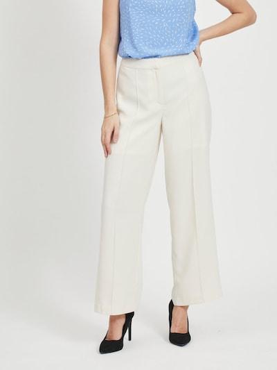 VILA Bügelfaltenhose in weiß, Modelansicht