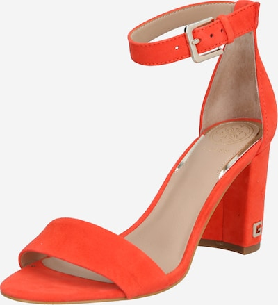 GUESS Sandalen 'MELISA' in orange, Produktansicht
