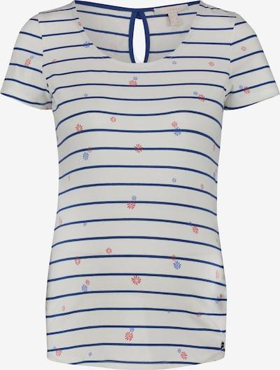 Esprit Maternity T-shirt en marine / blanc, Vue avec produit
