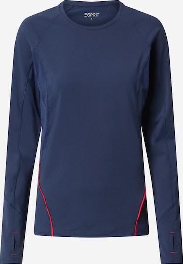 ESPRIT SPORT Koszulka funkcyjna w kolorze granatowy / koralowym, Podgląd produktu