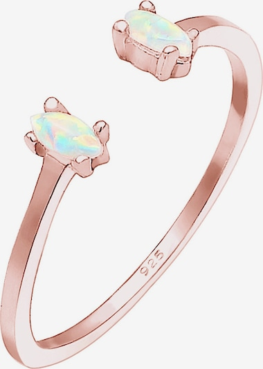 ELLI Ring 'Opal' in rosegold, Produktansicht